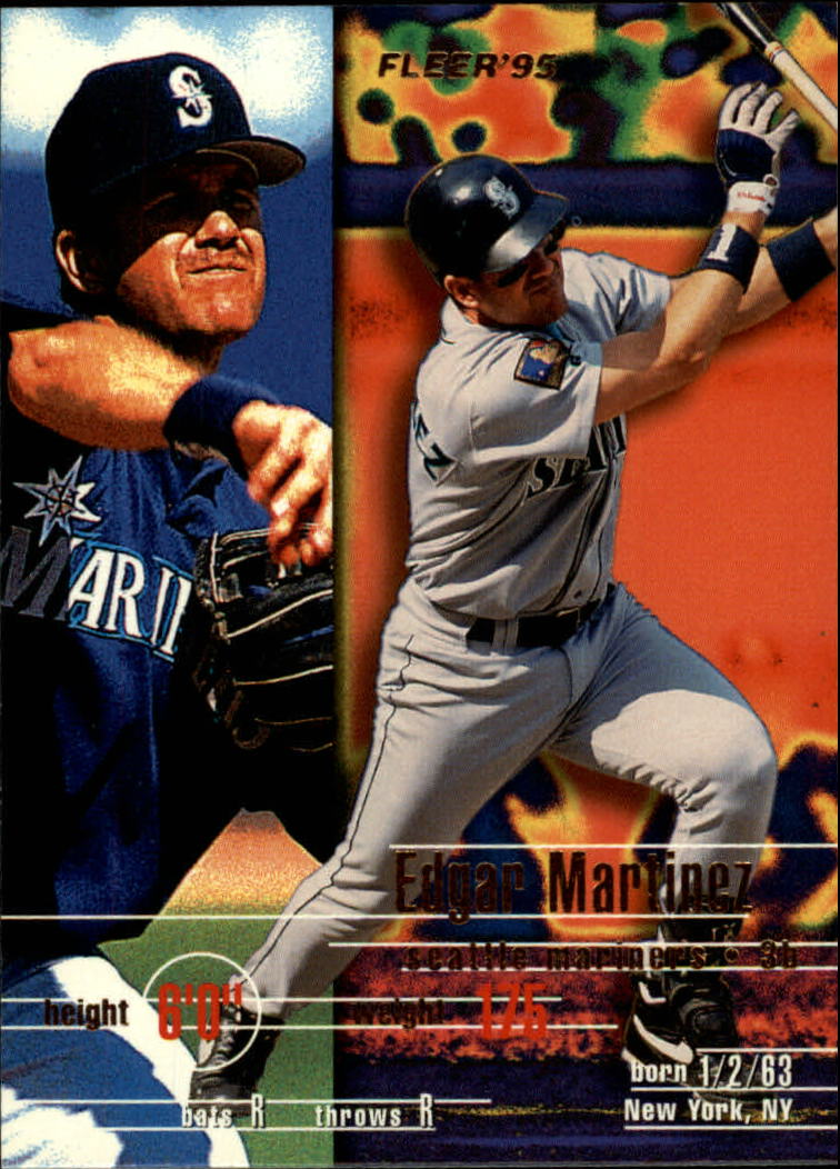1995 Fleer #272 Edgar Martinez