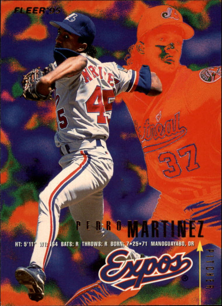 1995 Fleer #356 Pedro Martinez