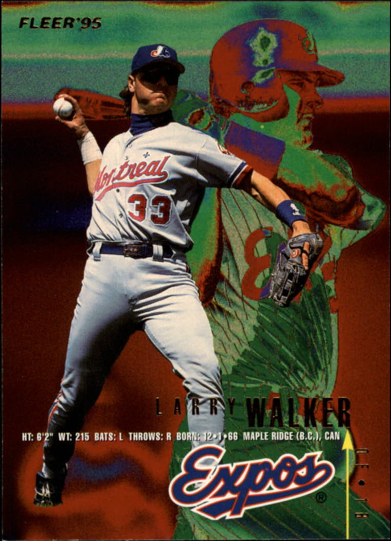1995 Fleer #361 Larry Walker