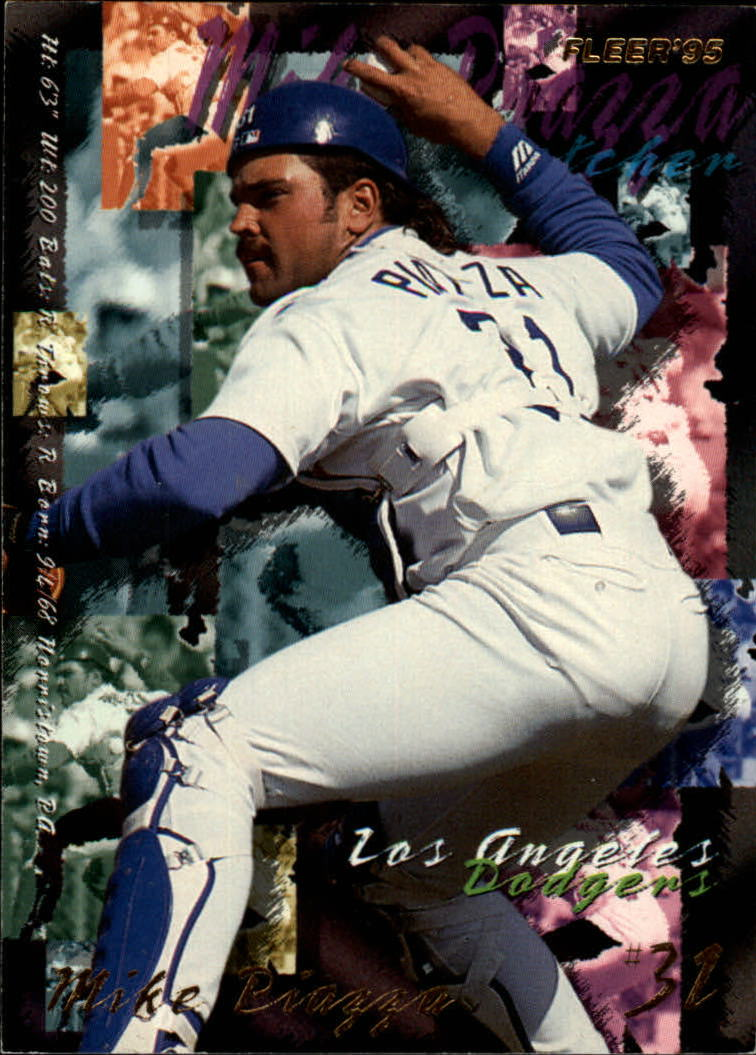 1995 Fleer #547 Mike Piazza