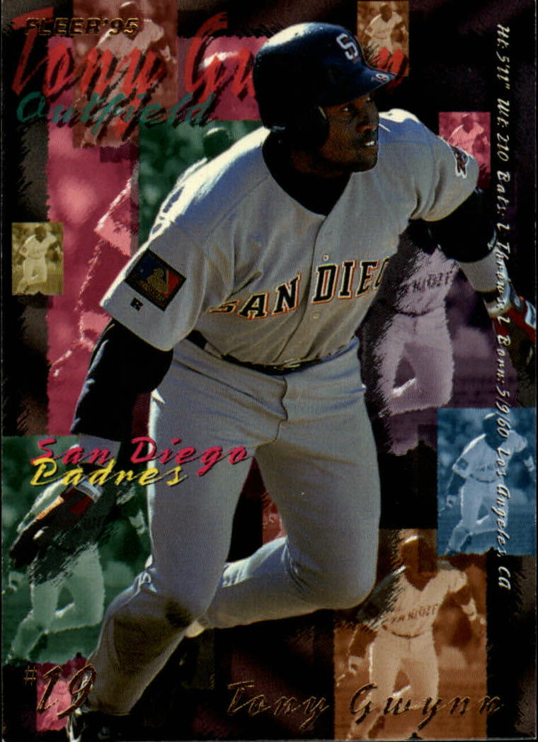 1995 Fleer #560 Tony Gwynn