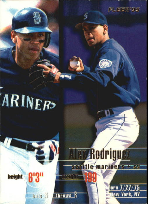 1995 Fleer Update #77 Alex Rodriguez