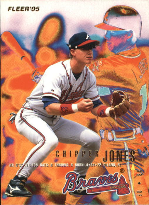 1995 Fleer Update #91 Chipper Jones