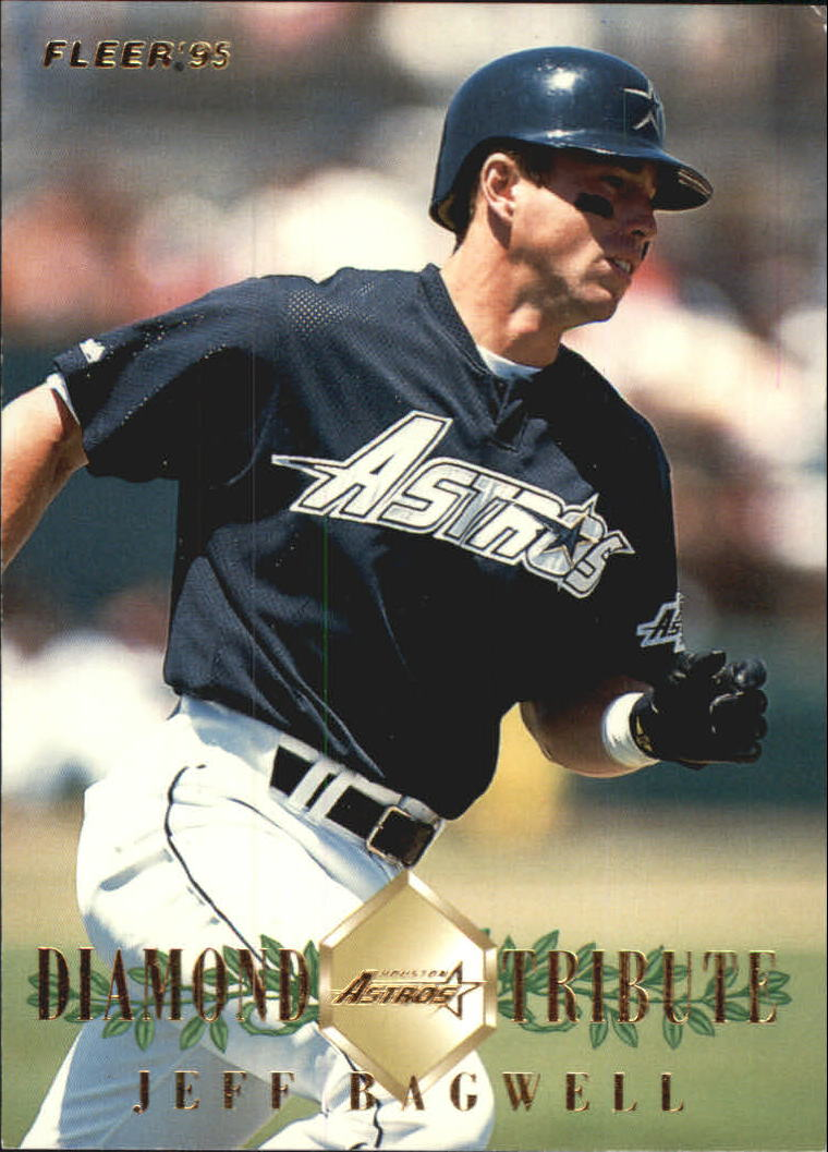 1995 Fleer Update Diamond Tribute #1 Jeff Bagwell