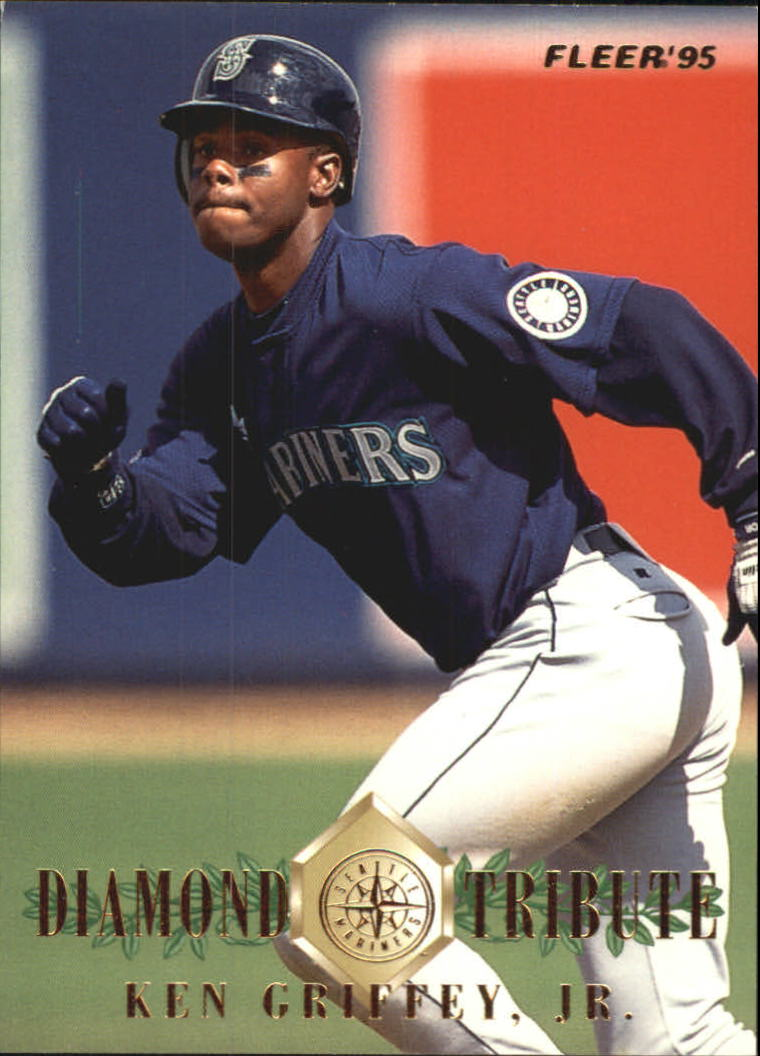 1995 Fleer Update Diamond Tribute #6 Ken Griffey Jr.