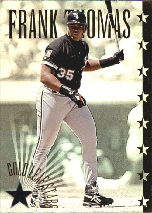 1995 Leaf Gold Stars #10 Frank Thomas