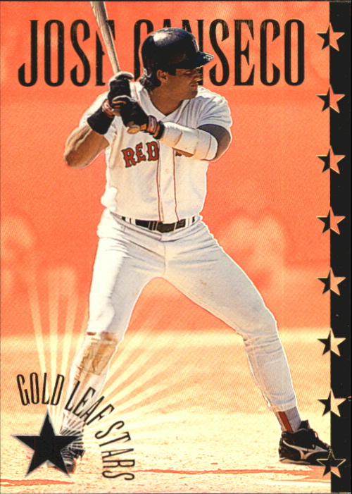 1995 Leaf Gold Stars #12 Jose Canseco