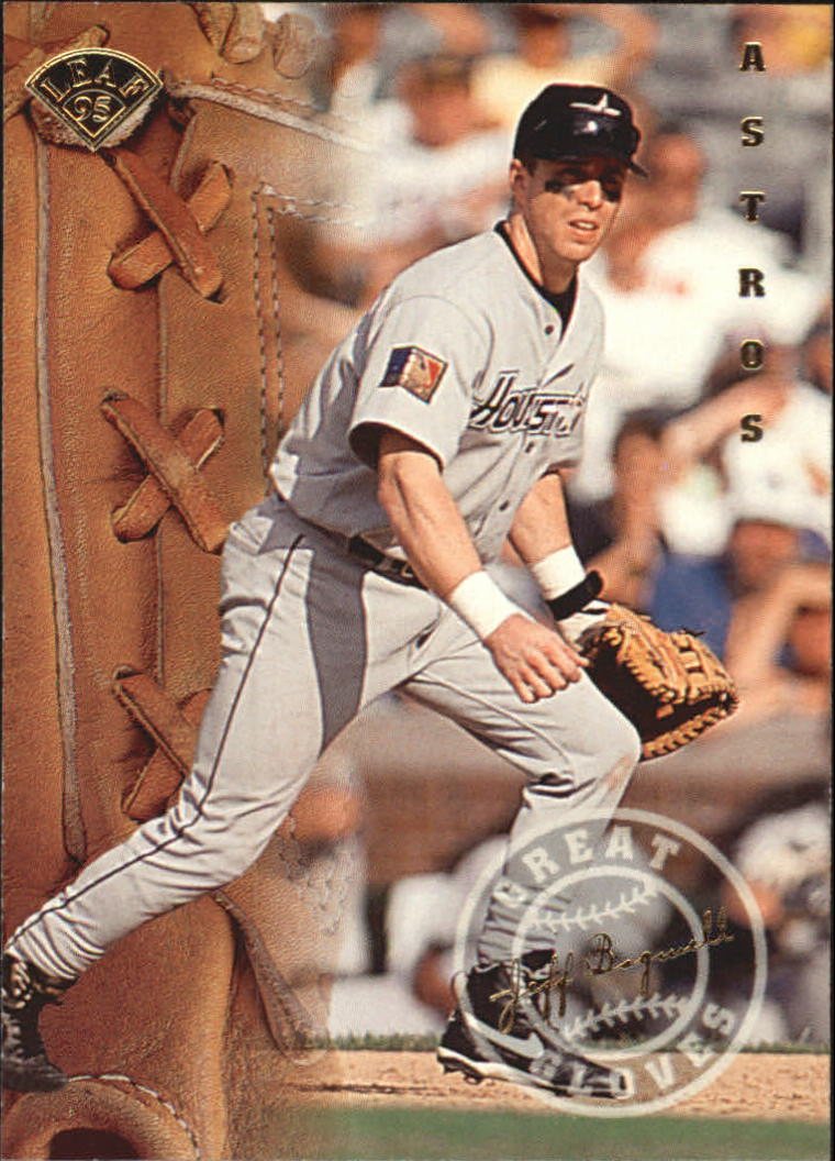1995 Leaf Great Gloves #1 Jeff Bagwell