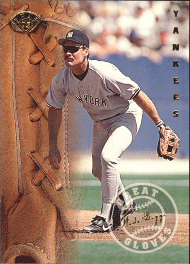 1995 Leaf Great Gloves #4 Wade Boggs