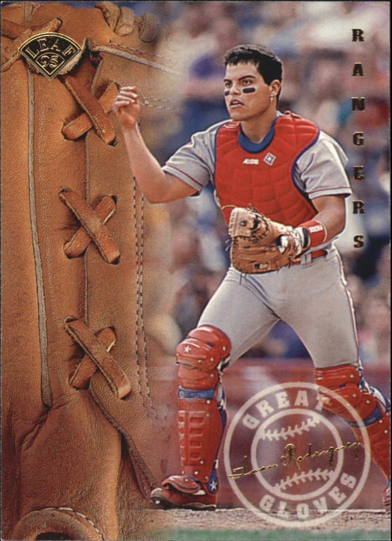1995 Leaf Great Gloves #16 Ivan Rodriguez