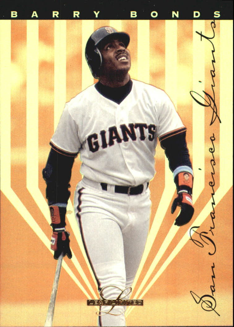 1995 Leaf Limited Gold #4 Barry Bonds front image