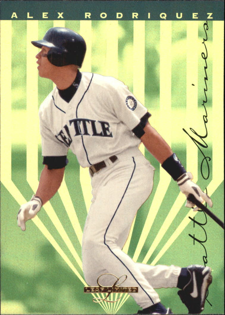 1995 Leaf Limited Gold #19 Alex Rodriguez UER