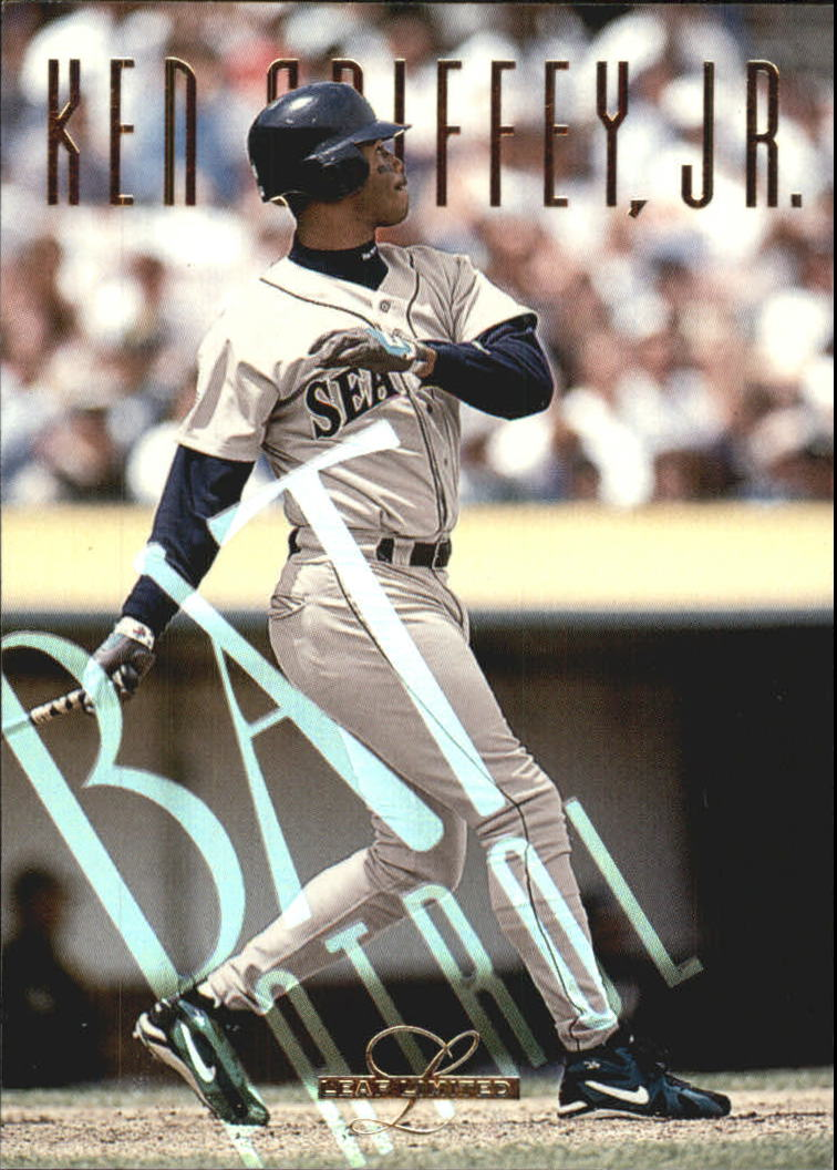 1995 Leaf Limited Bat Patrol #5 Ken Griffey Jr.