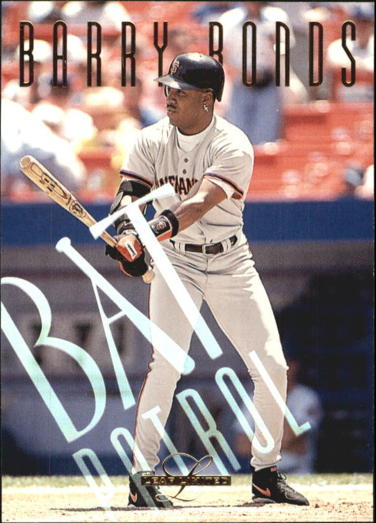 1995 Leaf Limited Bat Patrol #15 Barry Bonds