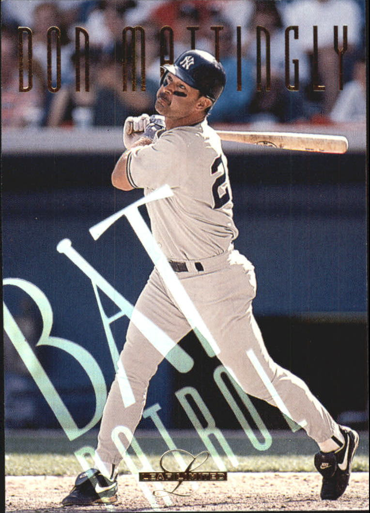 1995 Leaf Limited Bat Patrol #21 Don Mattingly