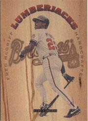 1995 Leaf Limited Lumberjacks #5 Fred McGriff