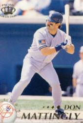 1995 Pacific #299 Don Mattingly