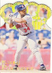 1995 Pacific Gold Crown Die Cuts #14 Kirby Puckett