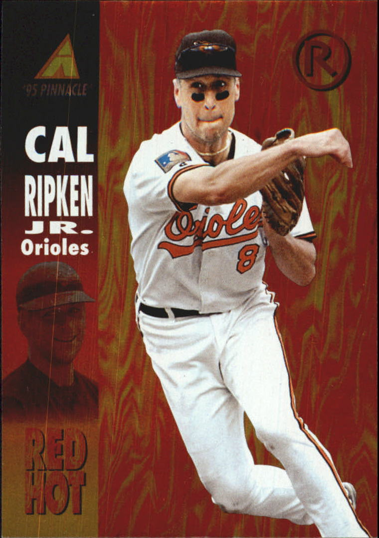 1995 Pinnacle Red Hot #RH1 Cal Ripken