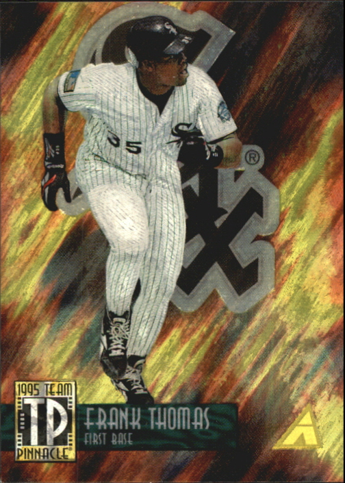 1995 Pinnacle Team Pinnacle #TP3 F.Thomas/J.Bagwell