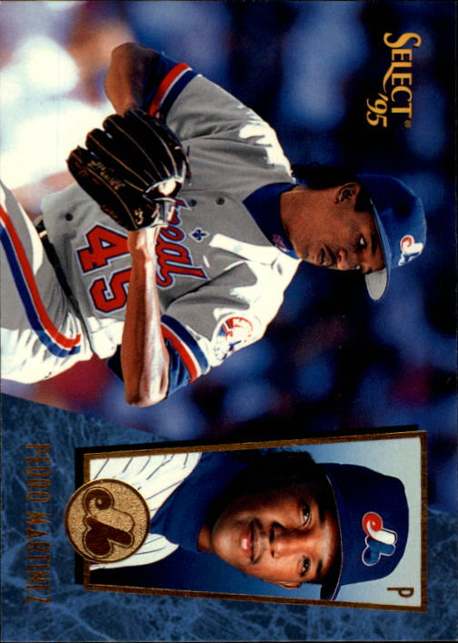 1995 Select #87 Pedro Martinez