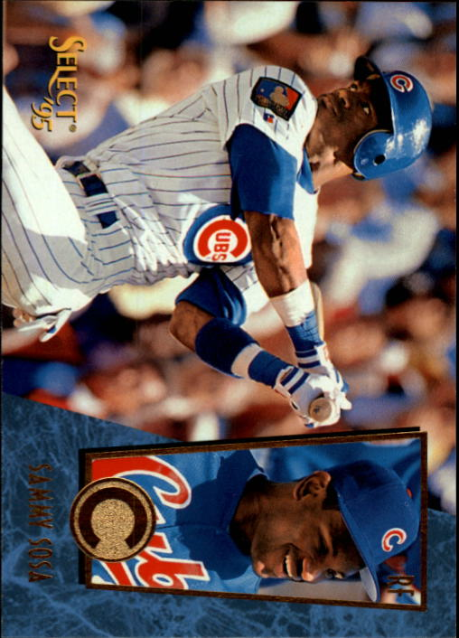 1995 Select #126 Sammy Sosa