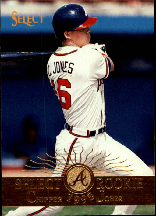 1995 Select #173 Chipper Jones