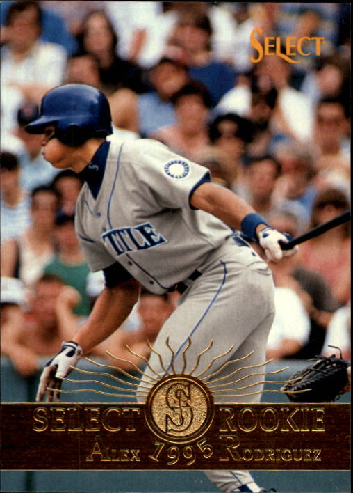 1995 Select #203 Alex Rodriguez