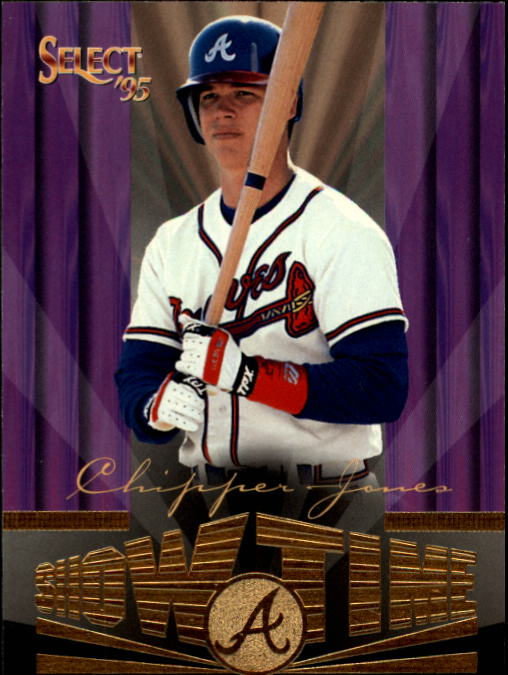 1995 Select #235 Chipper Jones ST