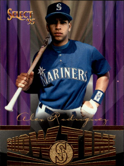 1995 Select #241 Alex Rodriguez ST