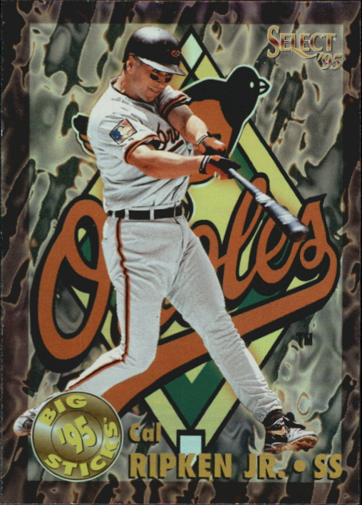 1995 Select Big Sticks #BS3 Cal Ripken