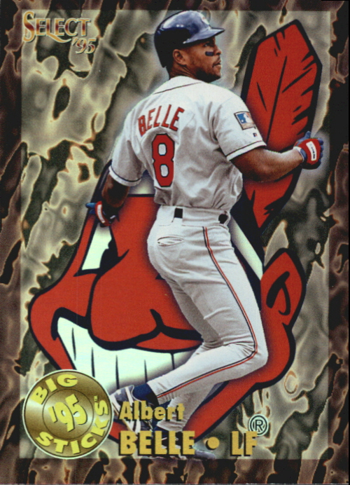 1995 Select Big Sticks #BS12 Albert Belle
