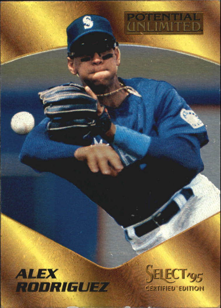 1995 Select Certified Potential Unlimited 1975 #20 Alex Rodriguez