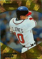 1995 Select Certified Potential Unlimited 903 #11 Chipper Jones