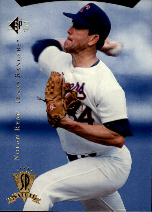 1995 SP #2 Nolan Ryan Salute