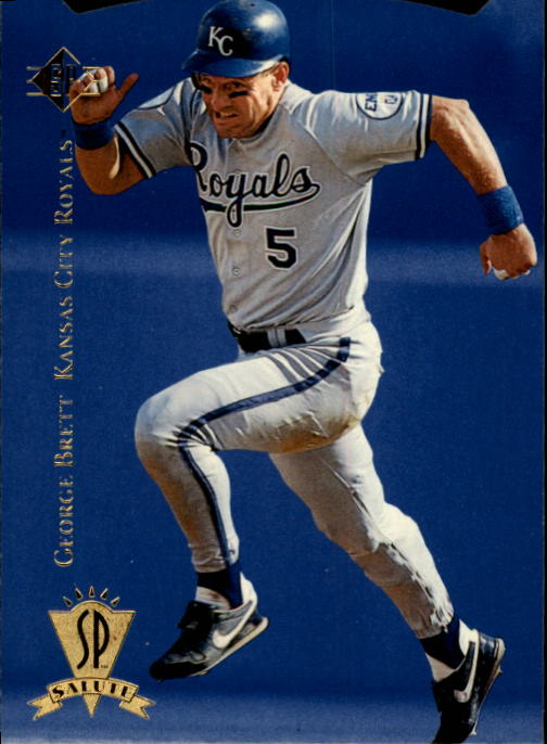 1995 SP #3 George Brett Salute