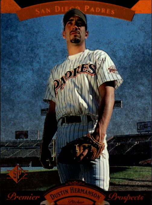 1995 SP #5 Dustin Hermanson FOIL