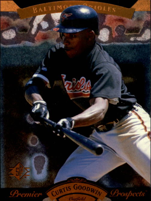 1995 SP #11 Curtis Goodwin FOIL