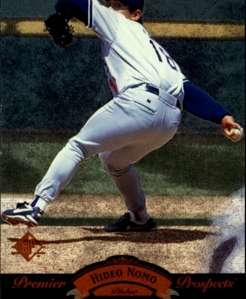 1995 SP #14 Hideo Nomo FOIL RC