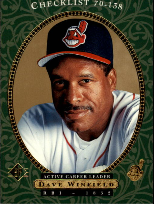 1995 SP #26 Dave Winfield CL