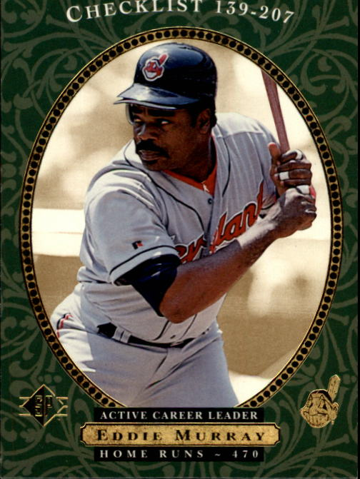 1995 SP #27 Eddie Murray CL