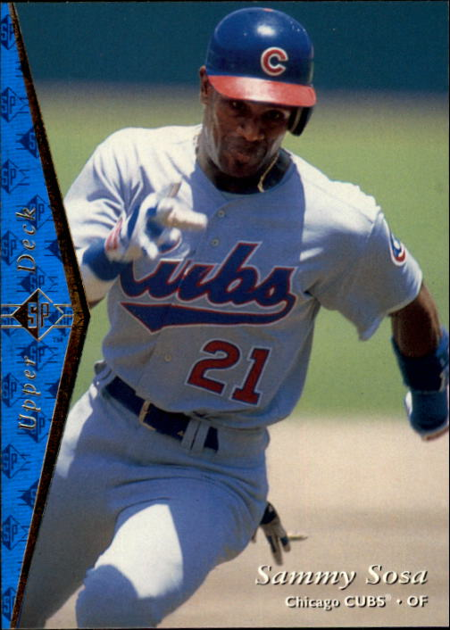 1995 SP #35 Sammy Sosa