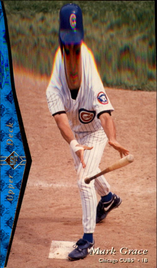 1995 SP #38 Mark Grace