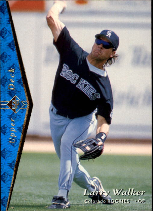 1995 SP #50 Larry Walker