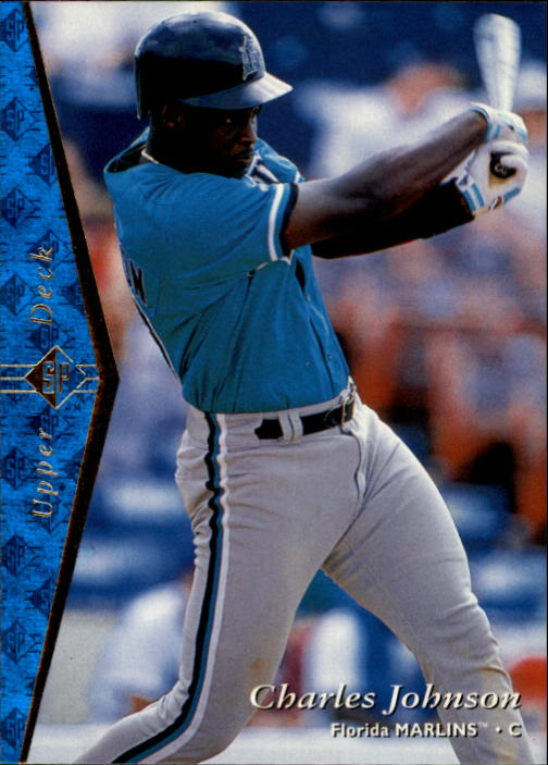 1995 SP #58 Charles Johnson
