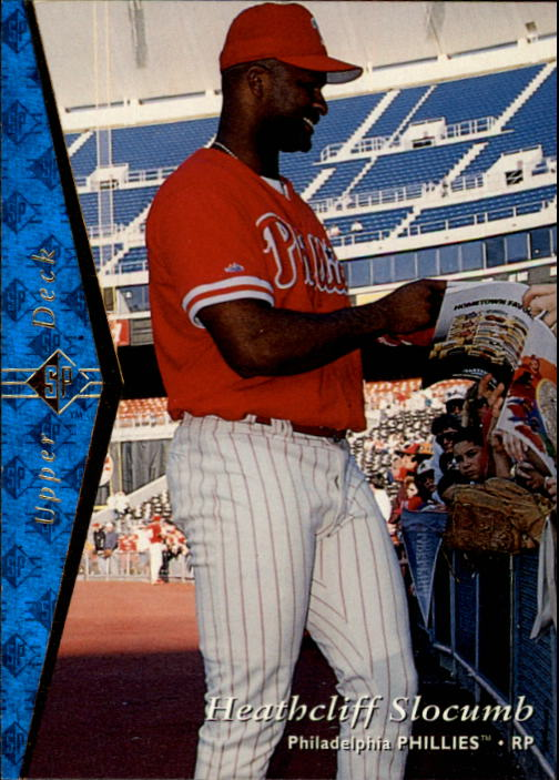 1995 SP #92 Heathcliff Slocumb