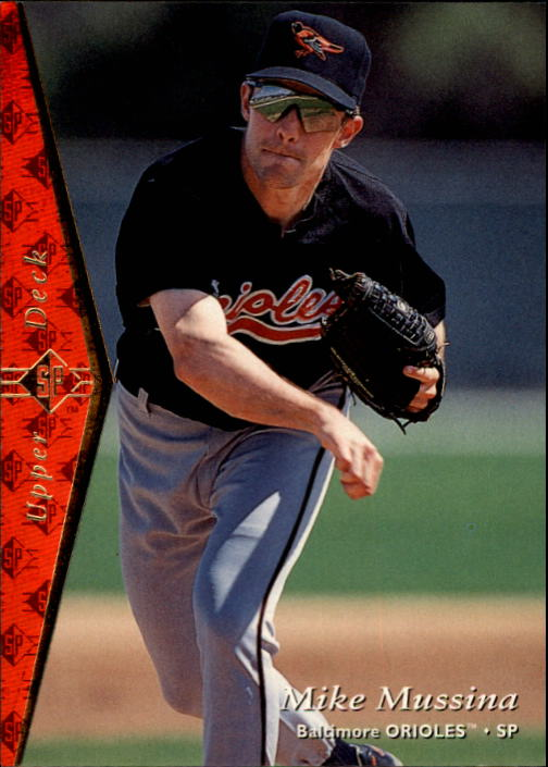 1995 SP #119 Mike Mussina