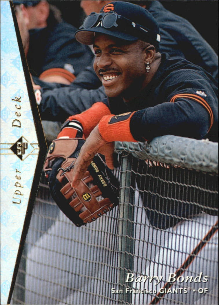 1995 SP Silver #115 Barry Bonds