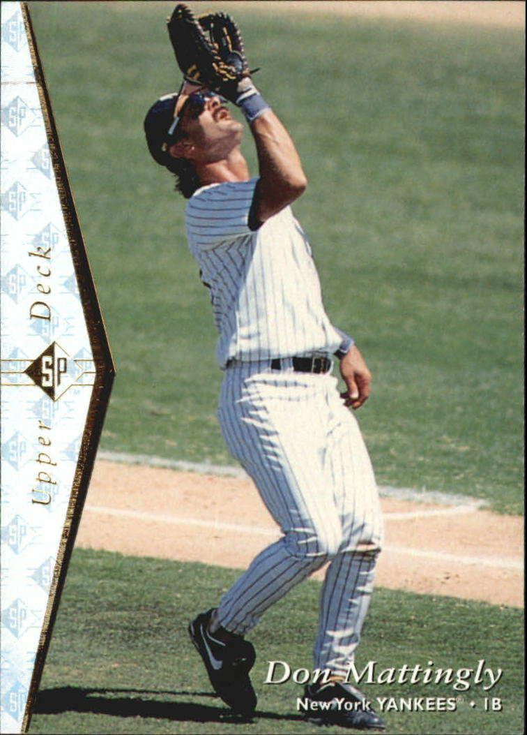 1995 SP Silver #175 Don Mattingly
