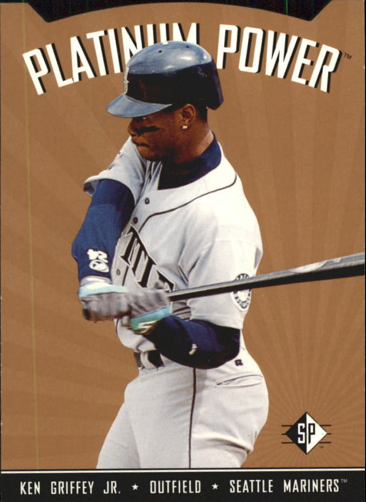 1995 SP Platinum Power #PP12 Ken Griffey Jr.